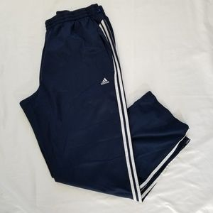Adidas Athletic Navy Blue Pants Men Size 2XL